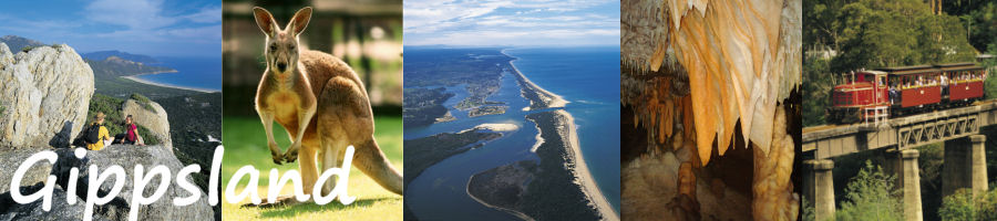 Gippsland Victoria Australia Accommodation and Information
